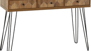 OTTAWA 3-DRAWER CONSOLE TABLE