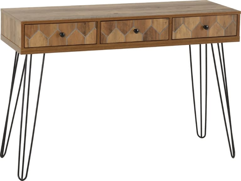 Ottawa 3 Drawer Console Table 1
