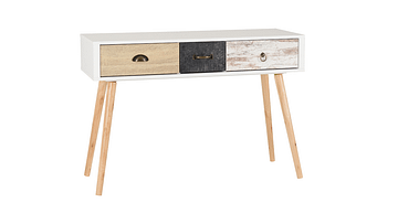 Nordic 3-Drawer Occasional Table