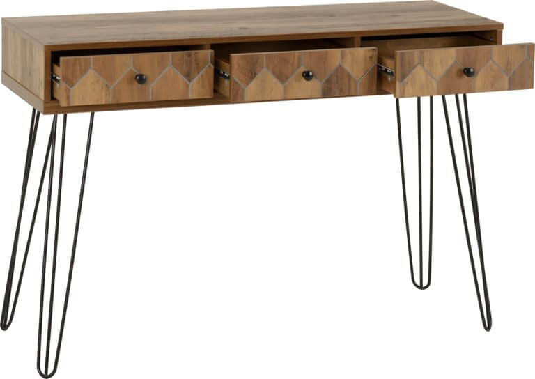 Ottawa 3 Drawer Console Table 2